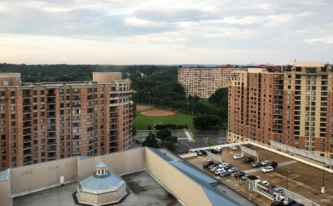 Ritz-Carlton Pentagon City Hotel utsikt værelse