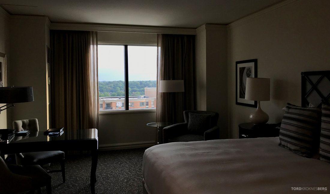Ritz-Carlton Pentagon City Hotel oversikt værelse
