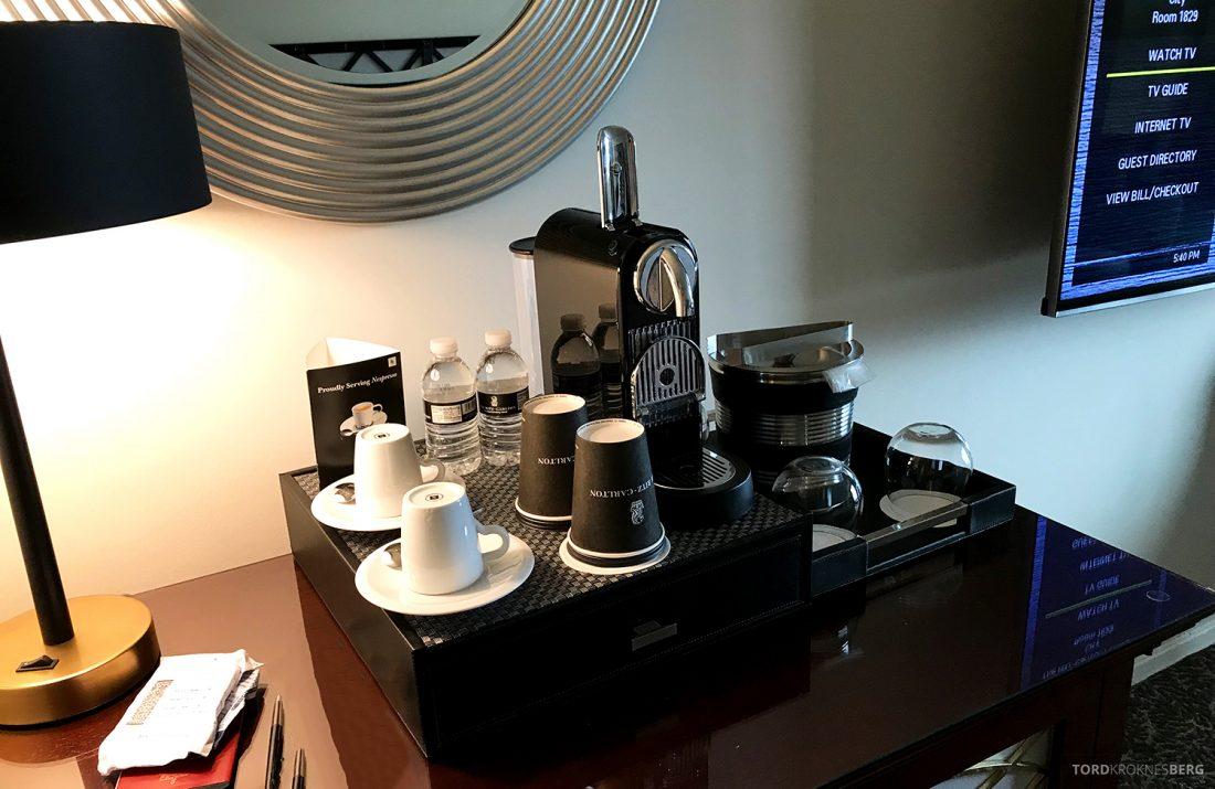 Ritz-Carlton Pentagon City Hotel kaffemaskin