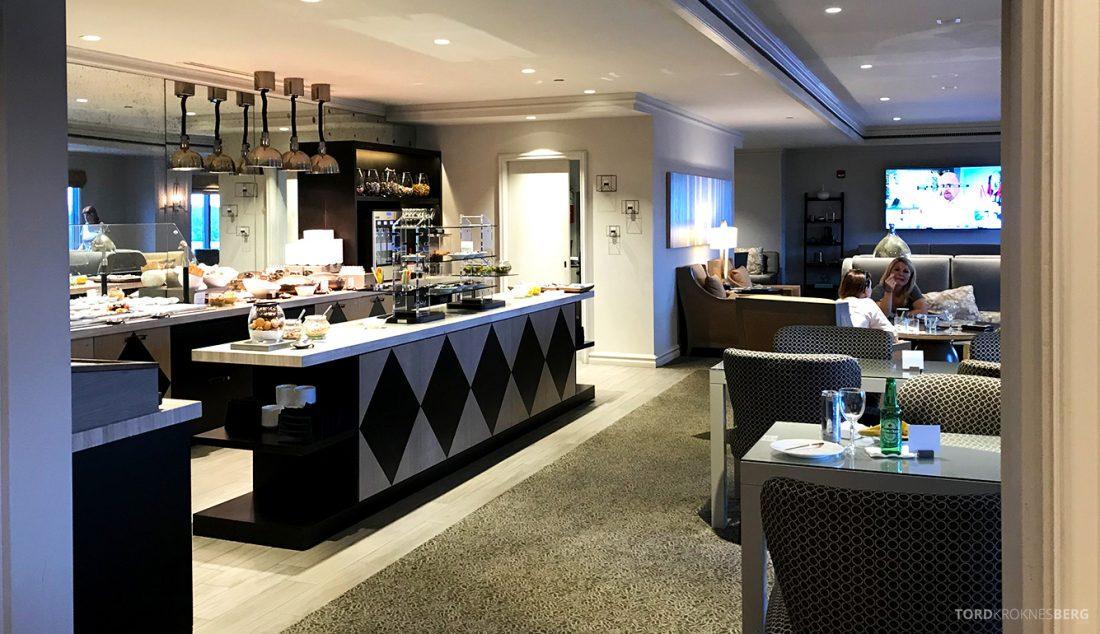 Ritz-Carlton Pentagon City Hotel Club Lounge inngang