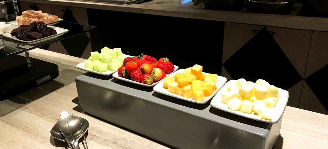 Ritz-Carlton Pentagon City Hotel Club Lounge frukt