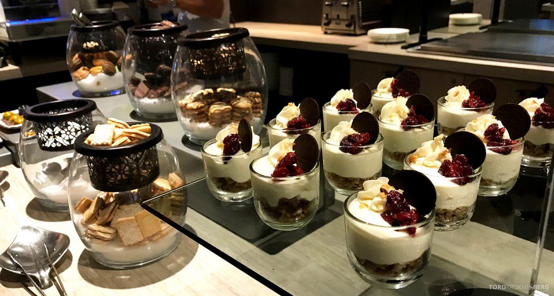 Ritz-Carlton Pentagon City Hotel Club Lounge dessert