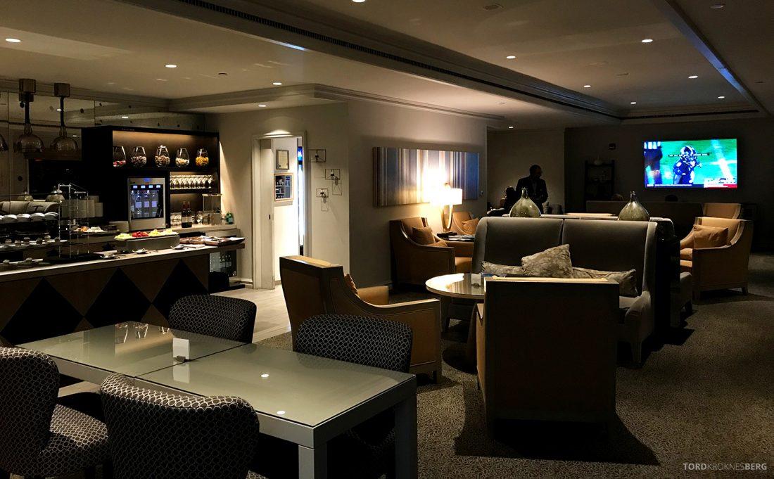 Ritz-Carlton Pentagon City Hotel Club Lounge oversikt