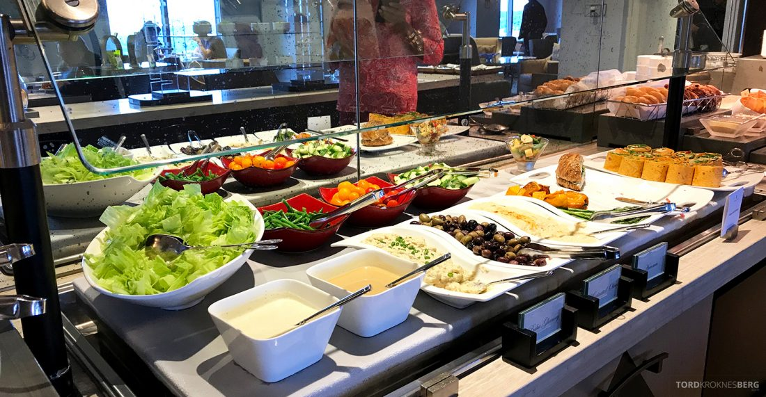 Ritz-Carlton Pentagon City Hotel Club Lounge lunch