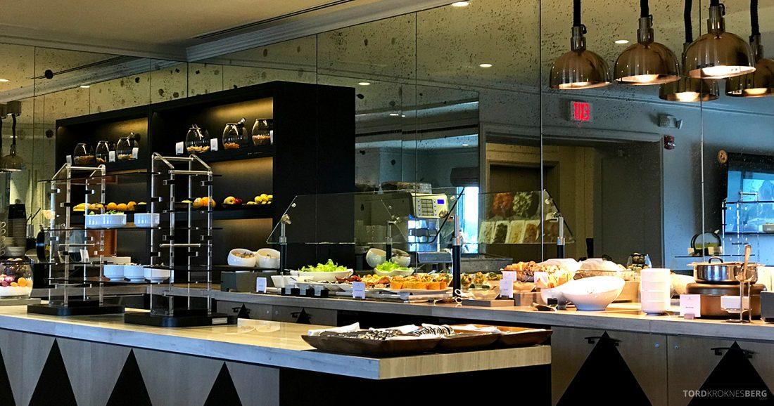 Ritz-Carlton Pentagon City Hotel Club Lounge lunch buffet