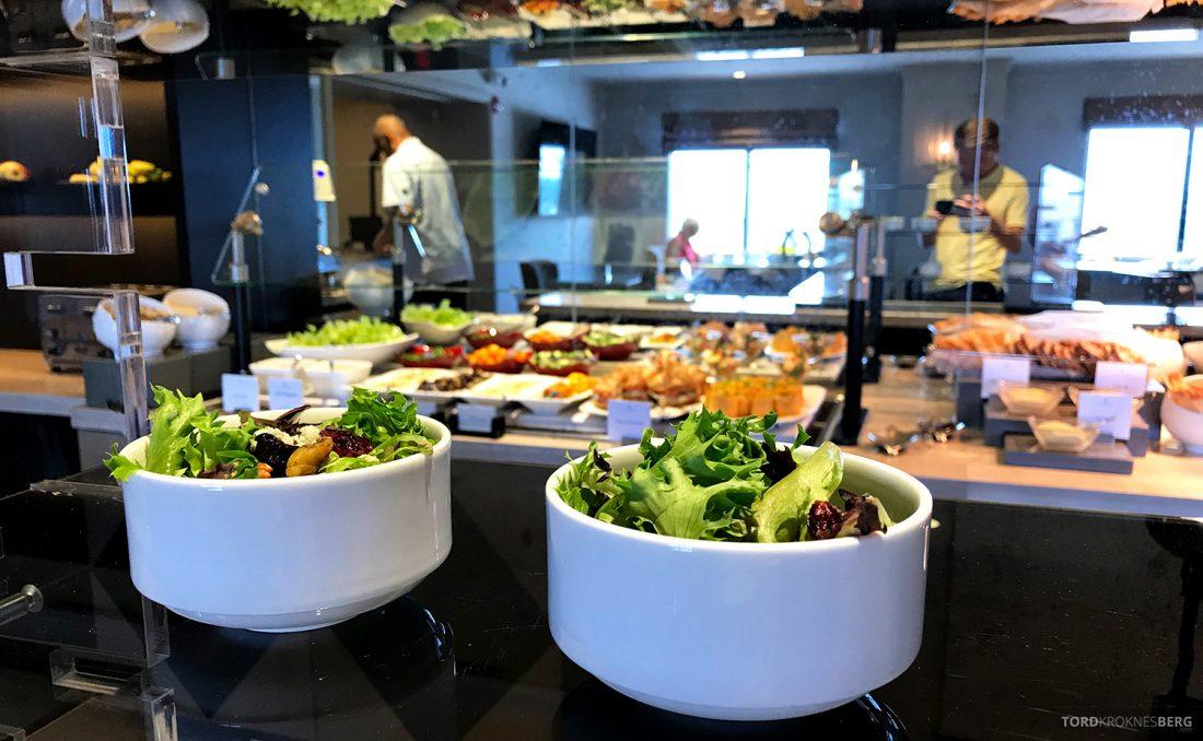 Ritz-Carlton Pentagon City Hotel Club Lounge salat