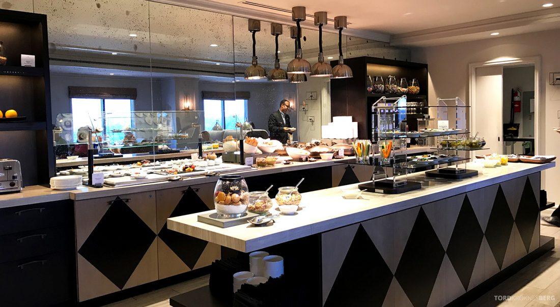 Ritz-Carlton Pentagon City Hotel Club Lounge buffet
