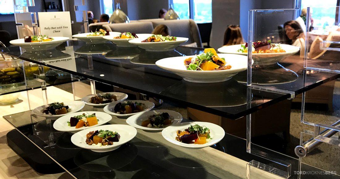 Ritz-Carlton Pentagon City Hotel Club Lounge småretter