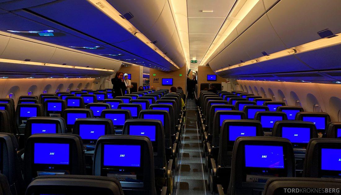 SAS A350 Oslo kabin