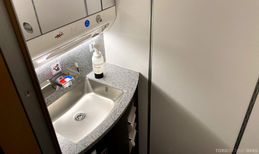 SAS A350 Oslo toalett Go