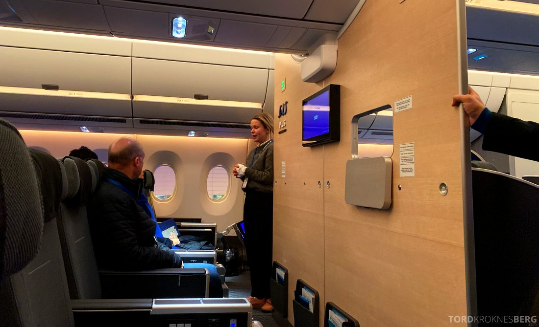 SAS A350 Oslo Plus-kabin
