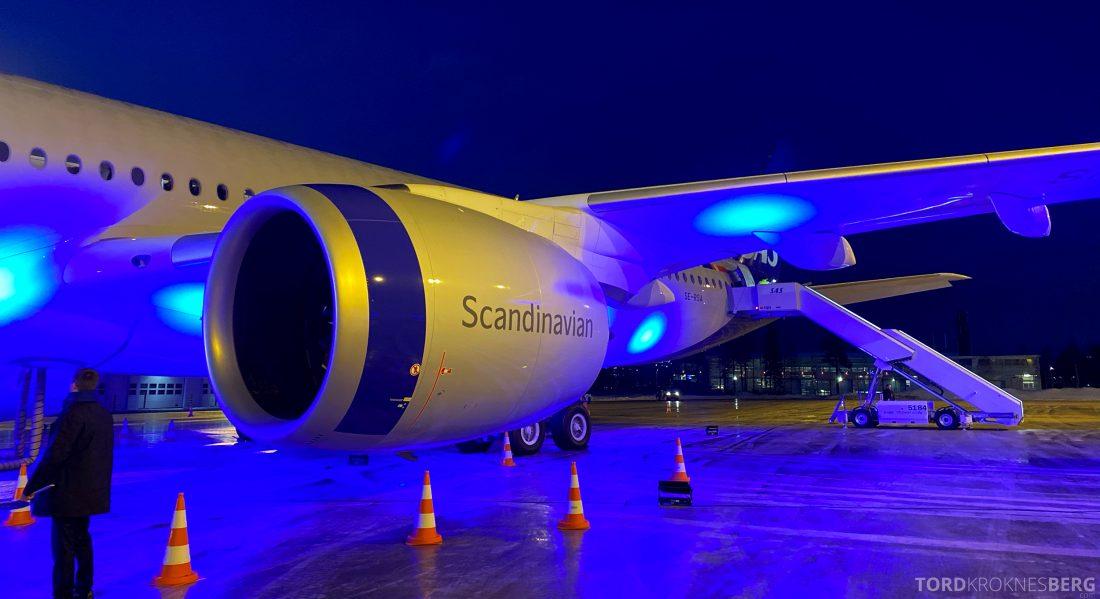 SAS A350 Oslo flykropp