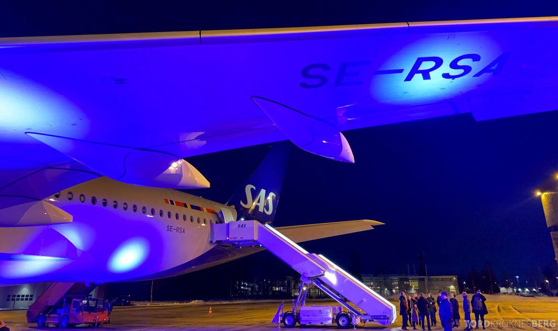 SAS A350 Oslo eksteriør