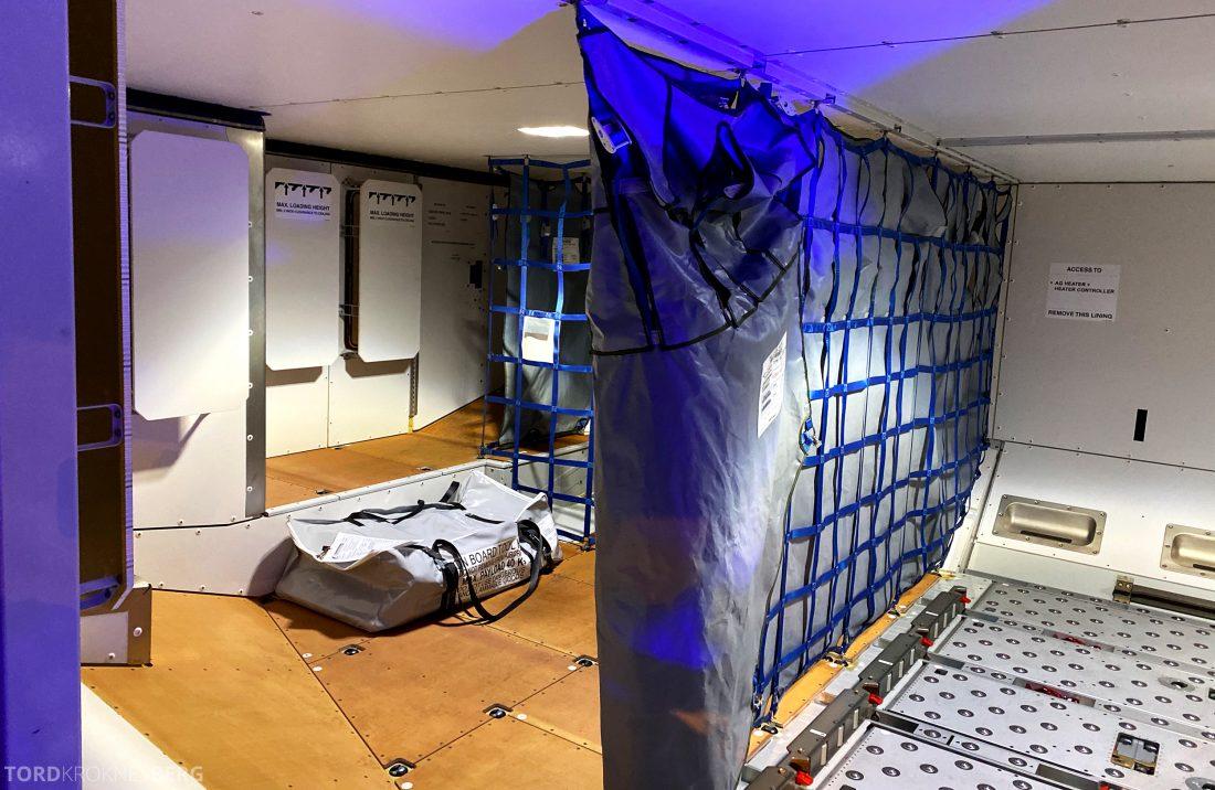 SAS A350 Oslo cargo
