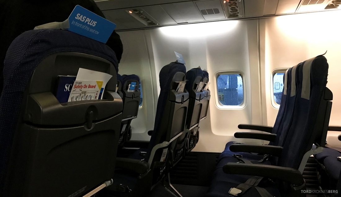 SAS Business Class Oslo Washington SAS Go