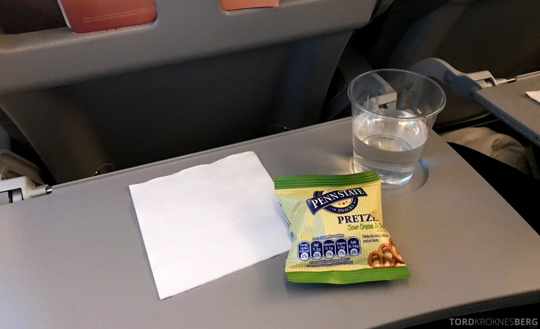 SAS Go JetTime Helsinki Oslo snack