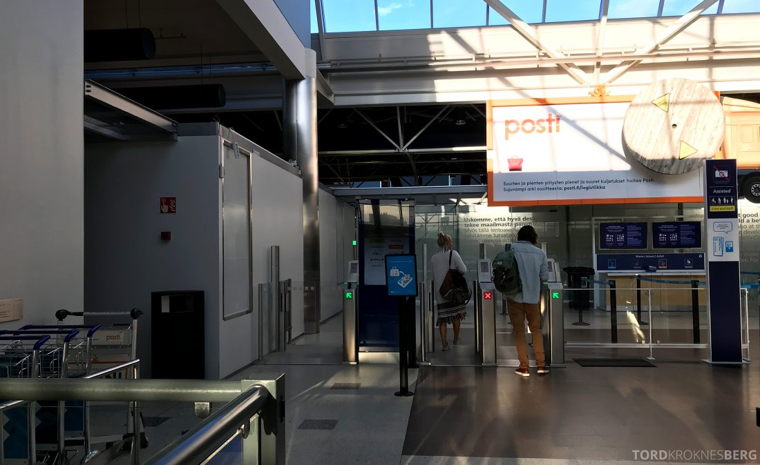 SAS Go JetTime Helsinki Oslo sikkerhetskontroll