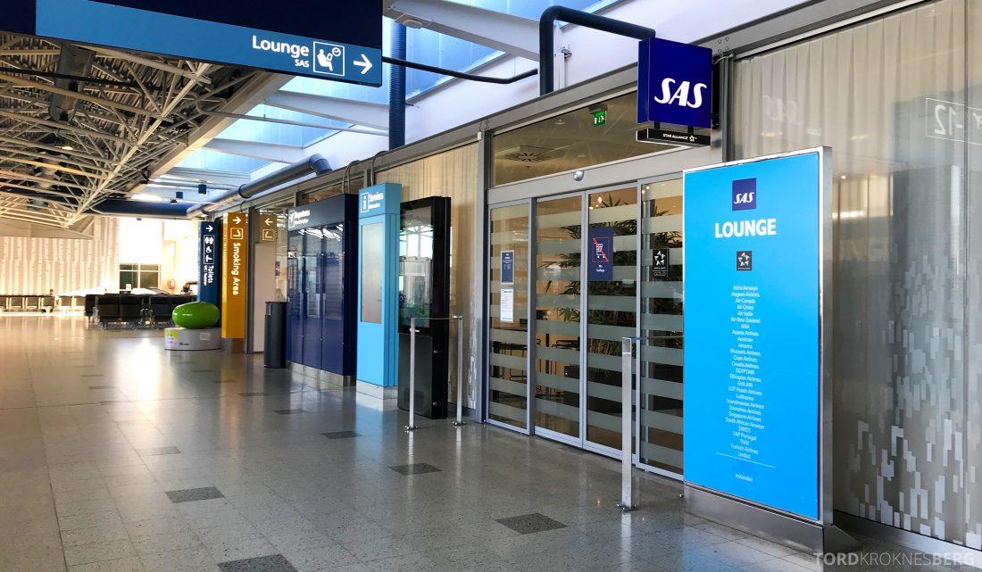 SAS Lounge Helsinki inngang