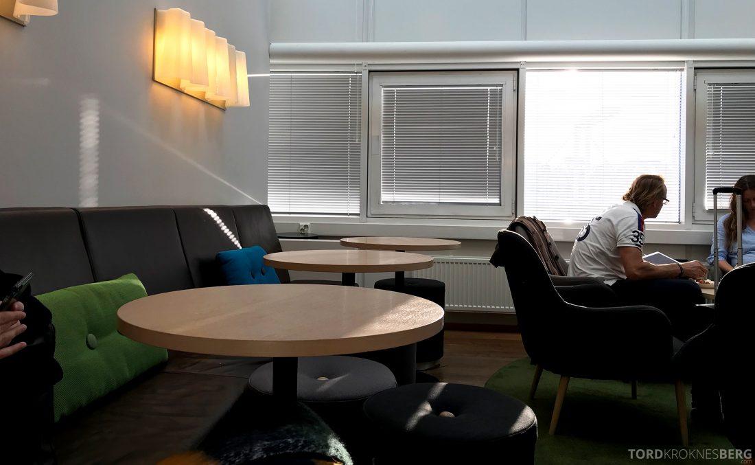SAS Lounge Helsinki sitteplasser