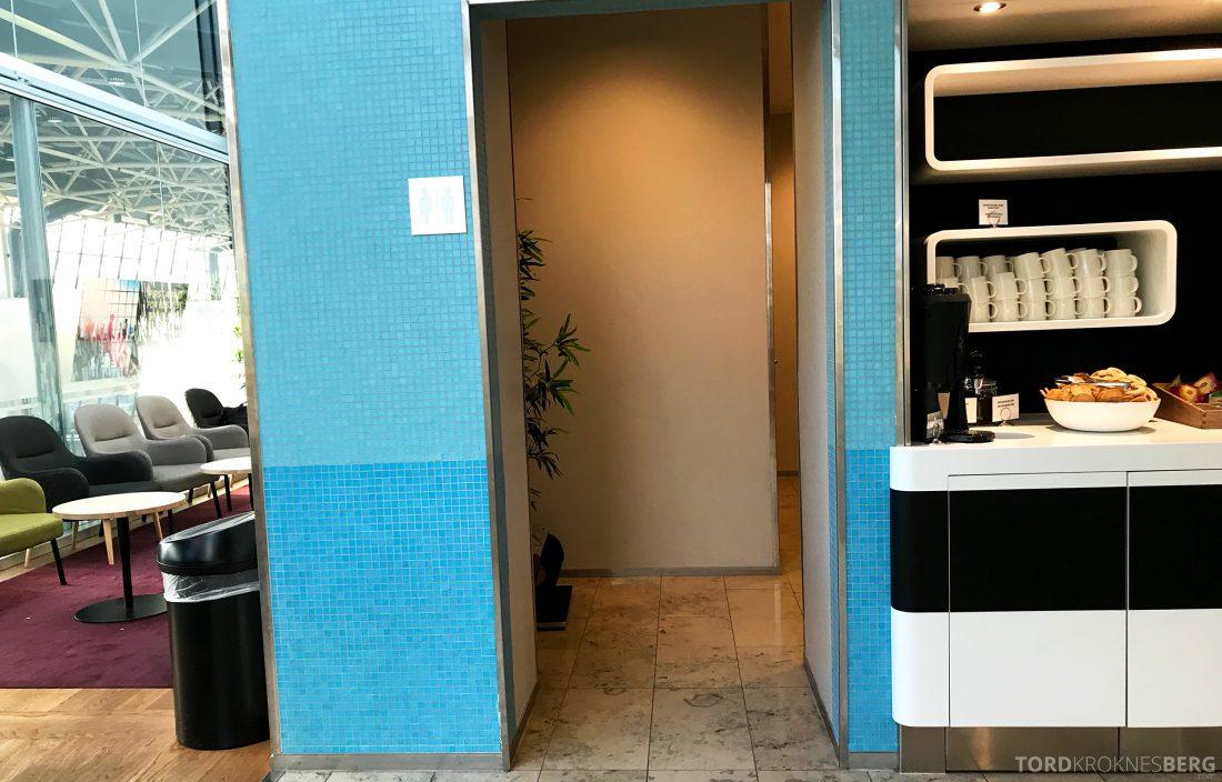 SAS Lounge Helsinki inngang toalett