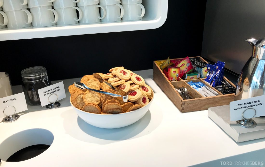 SAS Lounge Helsinki kjeks