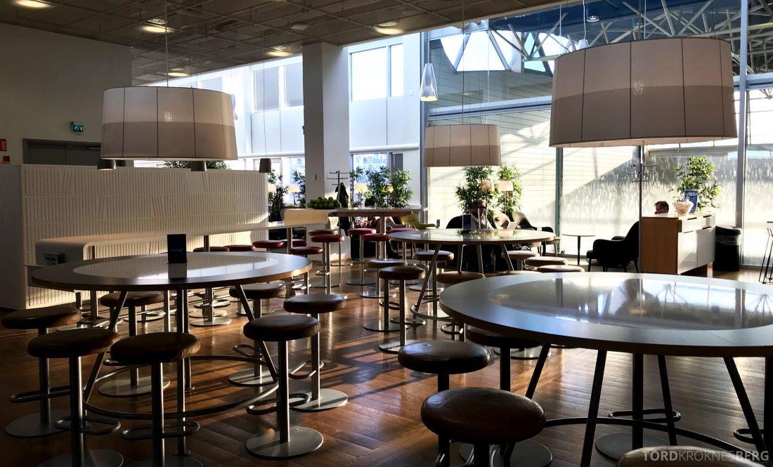SAS Lounge Helsinki oversikt