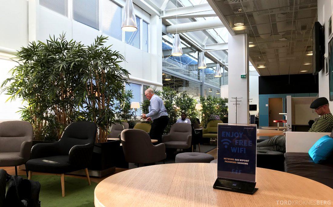 SAS Lounge Helsinki free Wi-Fi