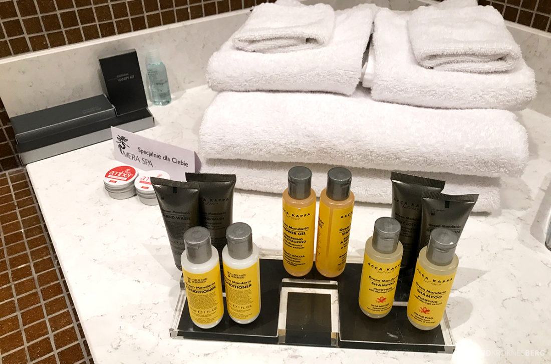 Marriott Hotel Sopot amenities