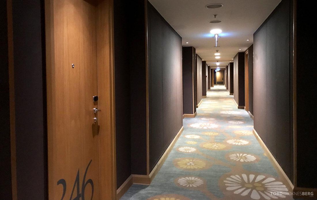 Marriott Hotel Sopot korridor