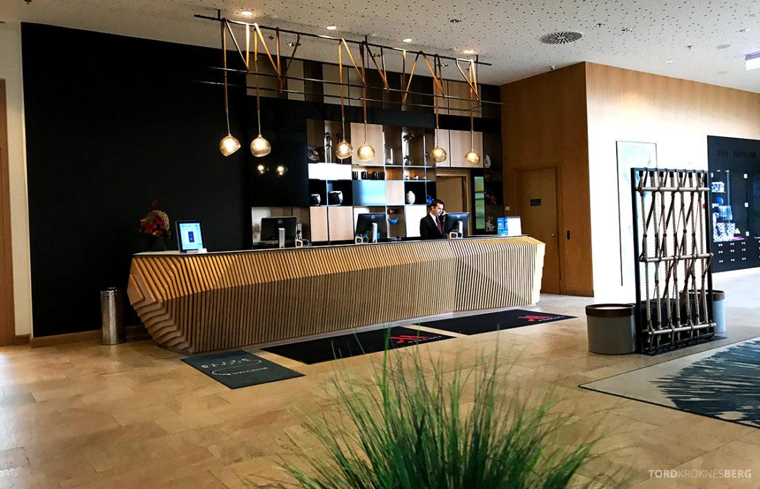 Marriott Hotel Sopot resepsjon