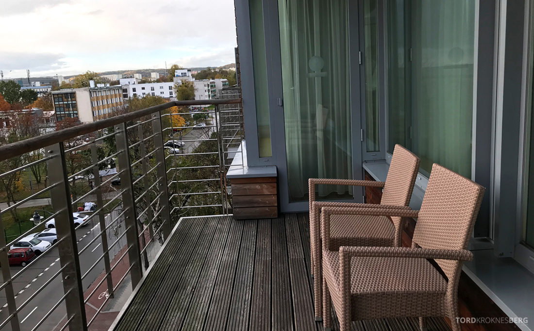 Marriott Hotel Sopot balkong