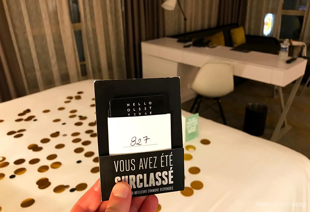 Renaissance La Defense Hotel Paris Club Lounge nøkkelkort seng