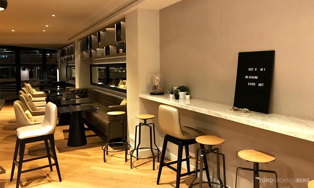 Renaissance La Defense Hotel Paris Club Lounge oversikt
