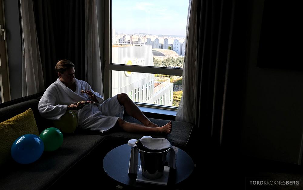 Renaissance La Defense Hotel Paris Tord Kroknes Berg suite