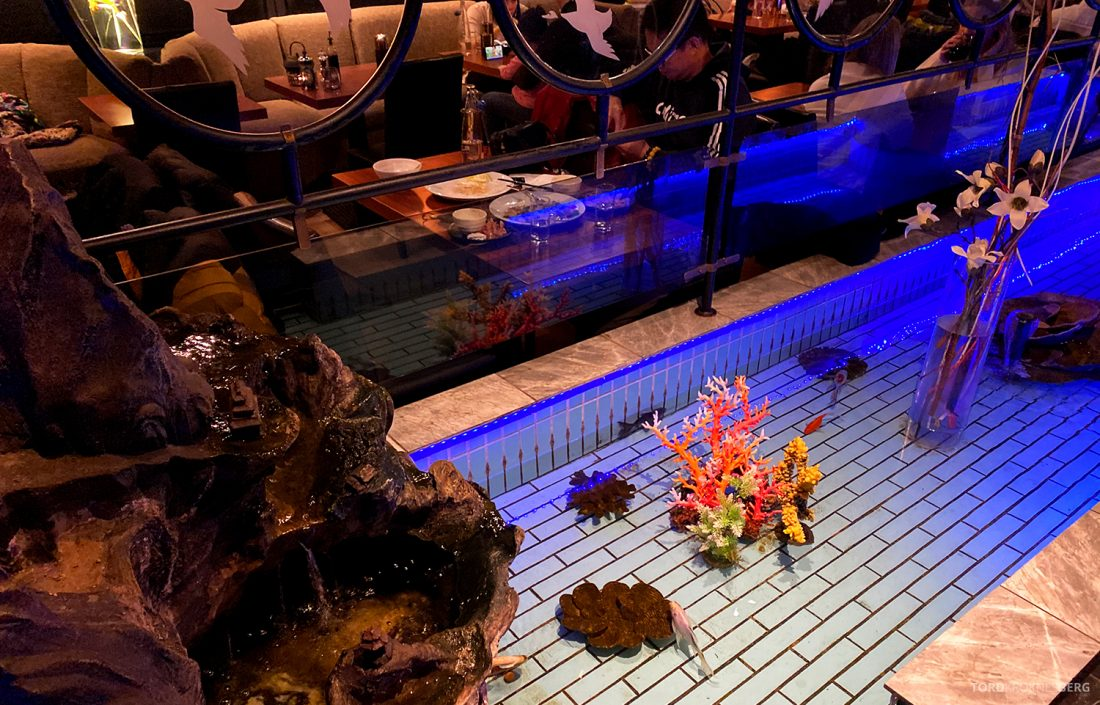 Restaurant HonSan Oslo fiskedam