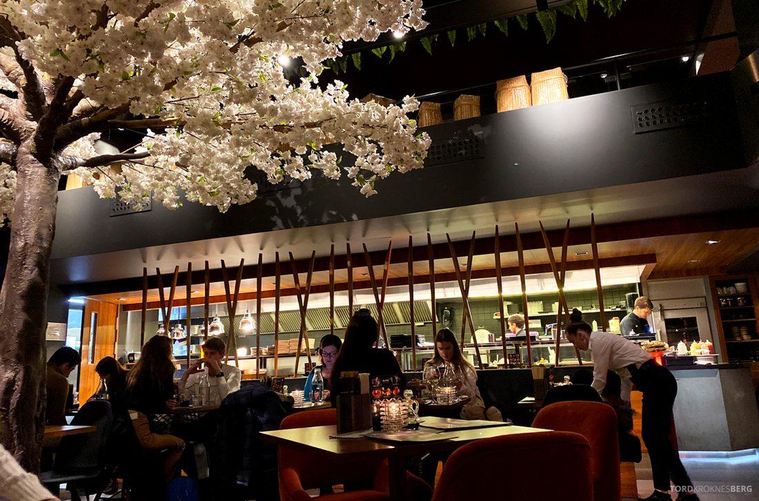 Restaurant Sumo Oslo åpent kjøkken