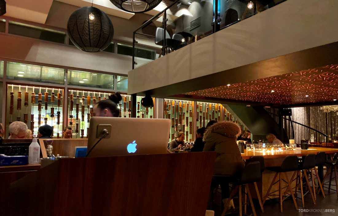 Restaurant Sumo Oslo bordhenvisning
