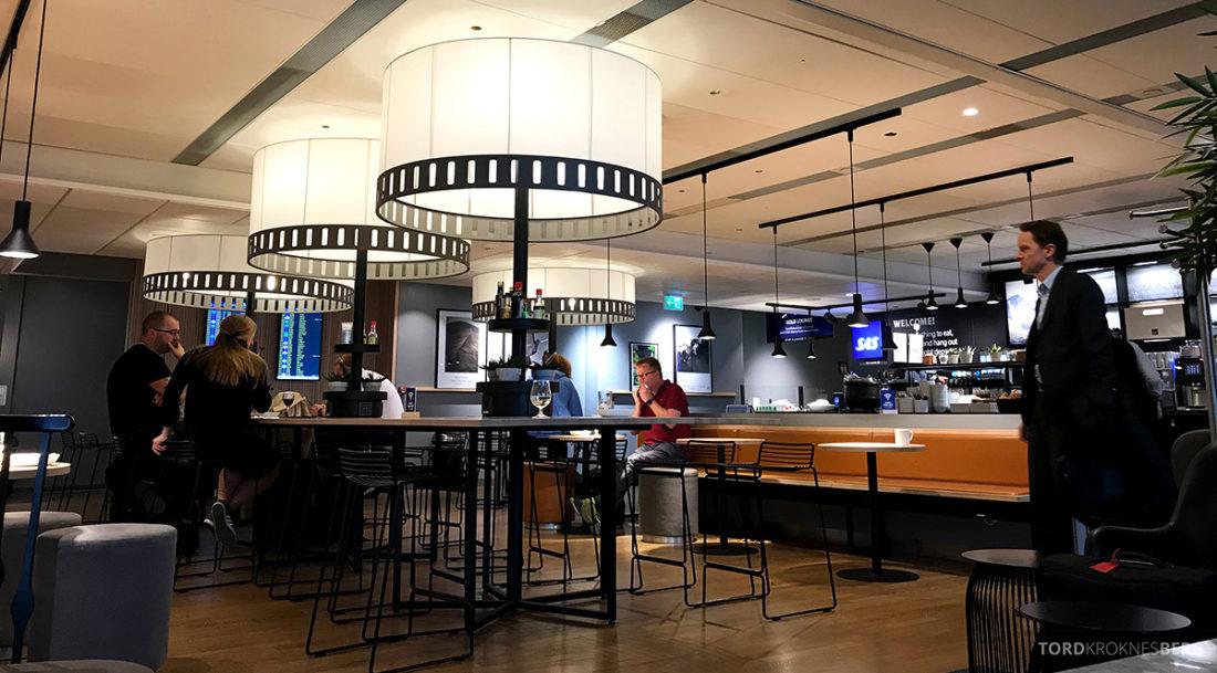 SAS Lounge International Oslo Gardermoen oversikt