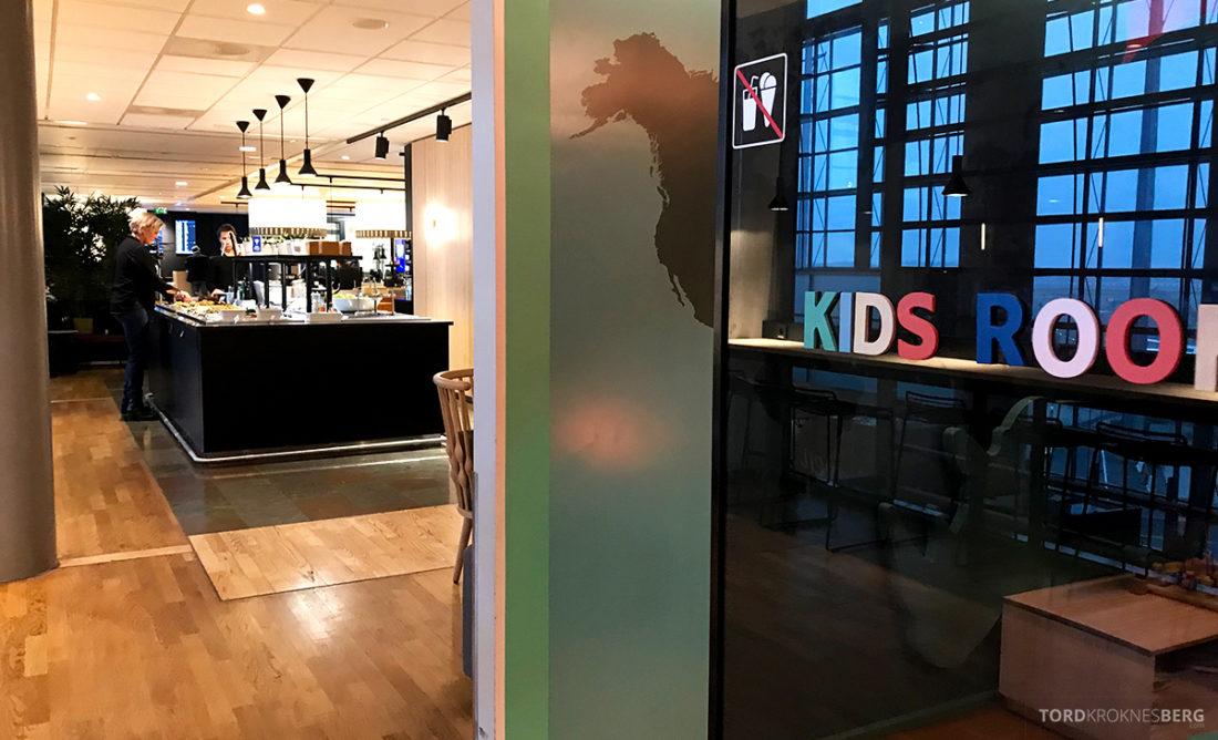 SAS Lounge International Oslo Gardermoen lekerom barn