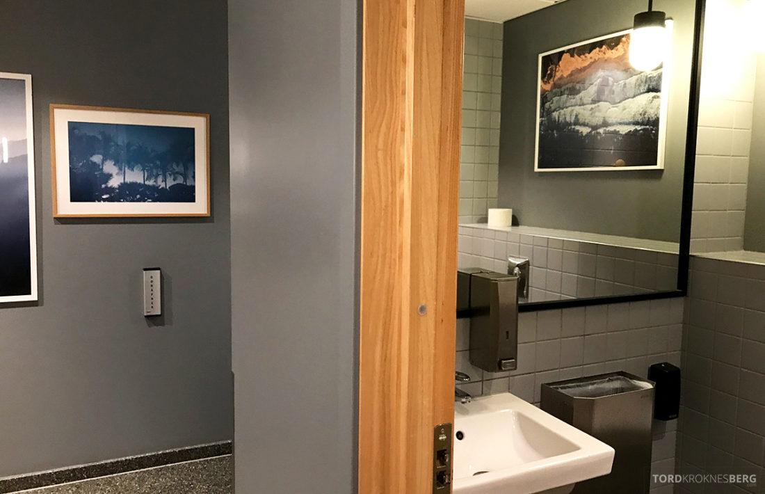 SAS Lounge International Oslo Gardermoen toalett