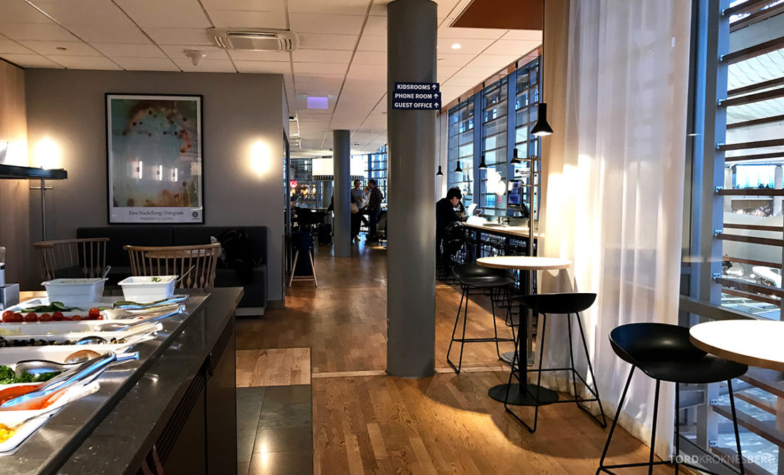 SAS Lounge International Oslo Gardermoen innover
