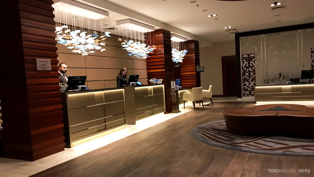 Sheraton Hotel Sopot resepsjon