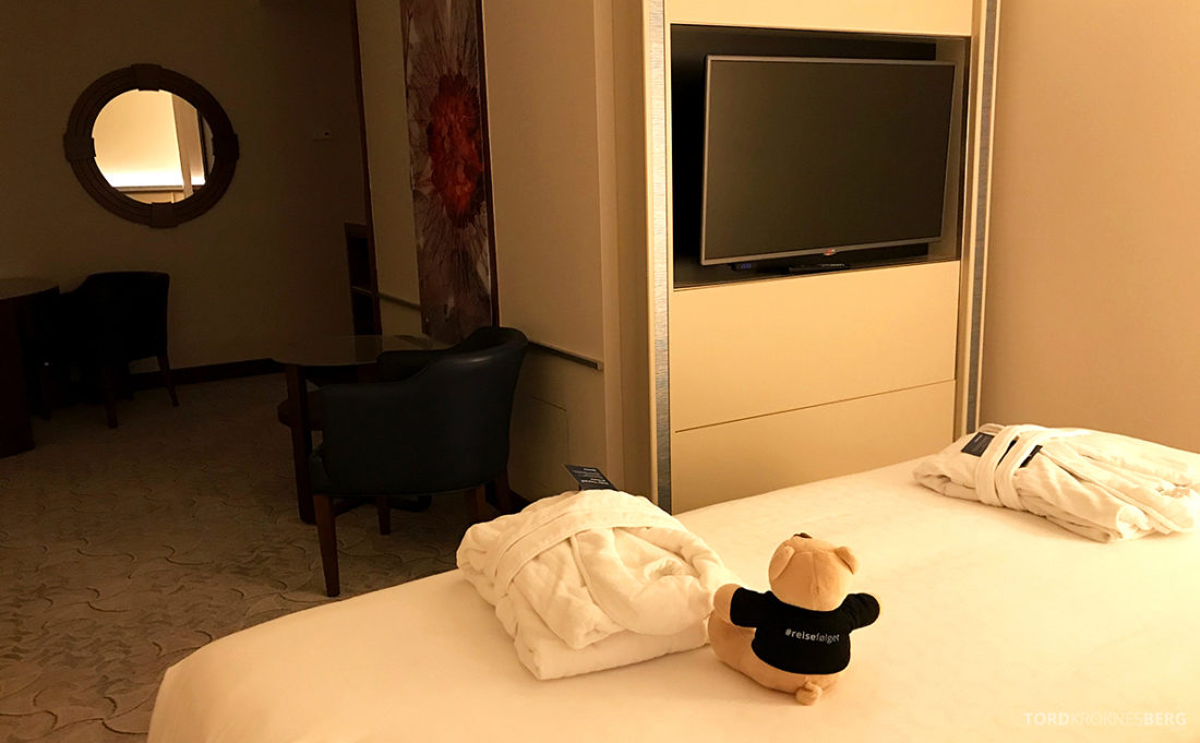 Sheraton Hotel Sopot soveværelse reisefølget