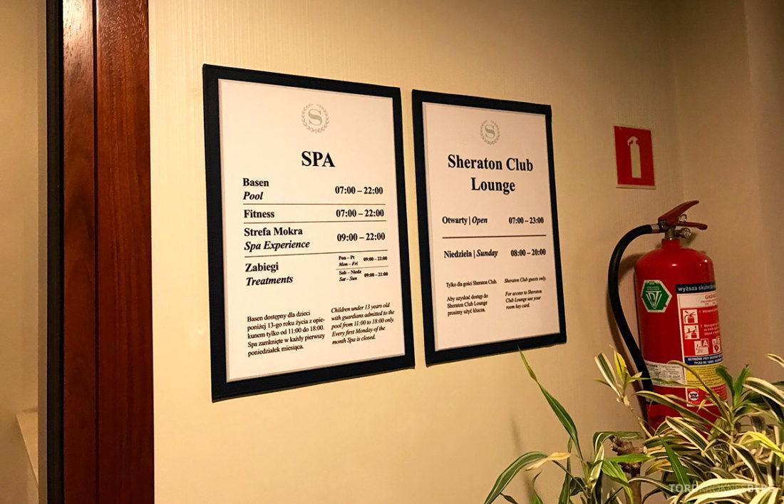 Sheraton Hotel Sopot spa og lounge