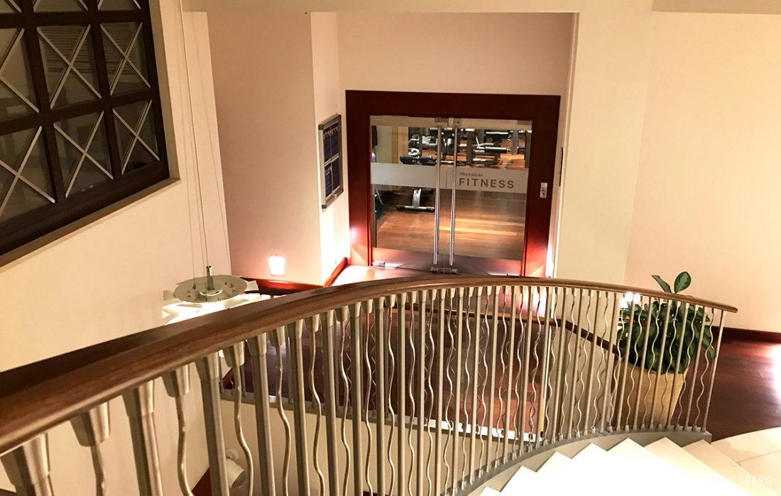 Sheraton Hotel Sopot ned mot fitness