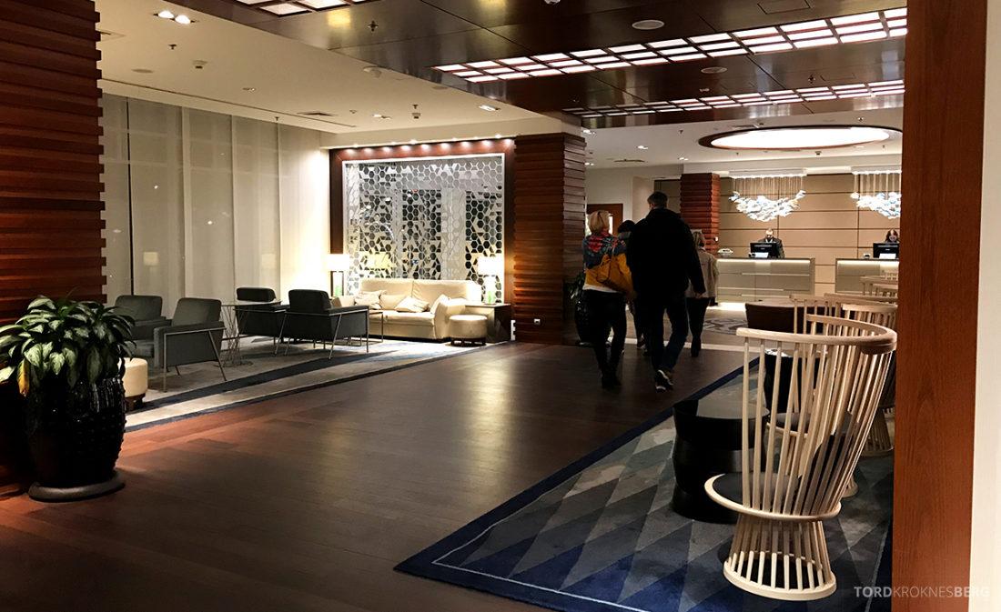 Sheraton Hotel Sopot lobby