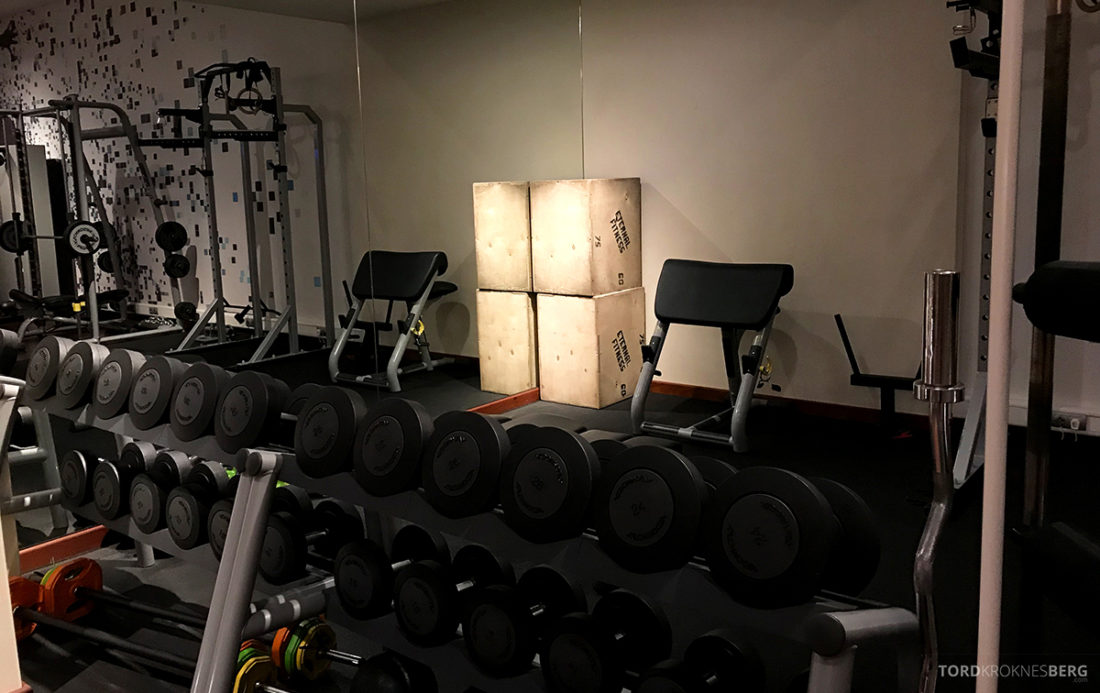 Sheraton Hotel Sopot gym