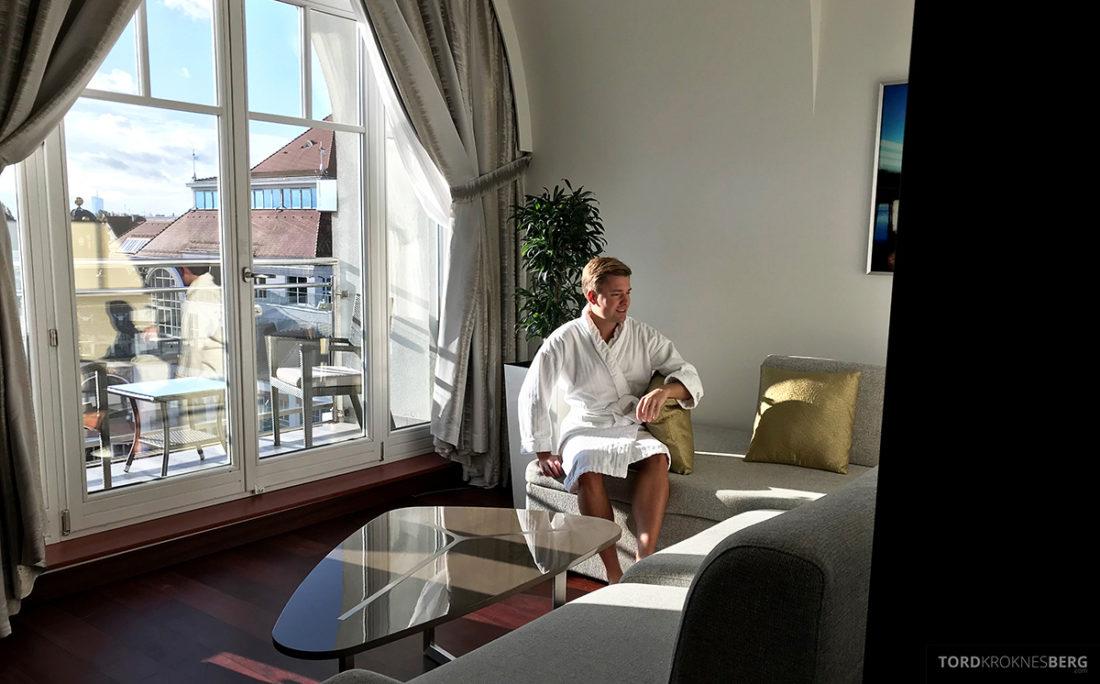 Sheraton Hotel Sopot Tord Kroknes Berg morgen
