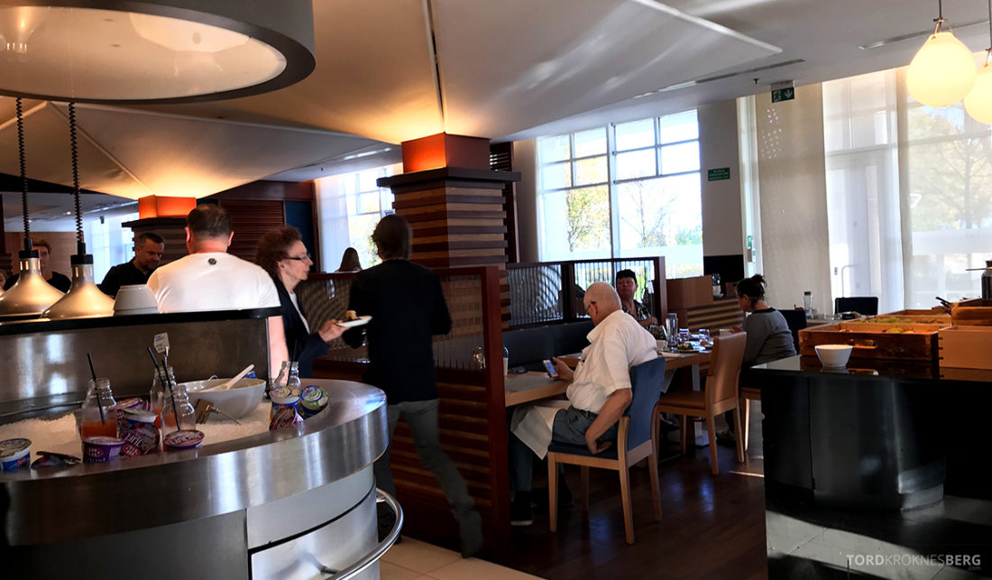 Sheraton Hotel Sopot frokostsal