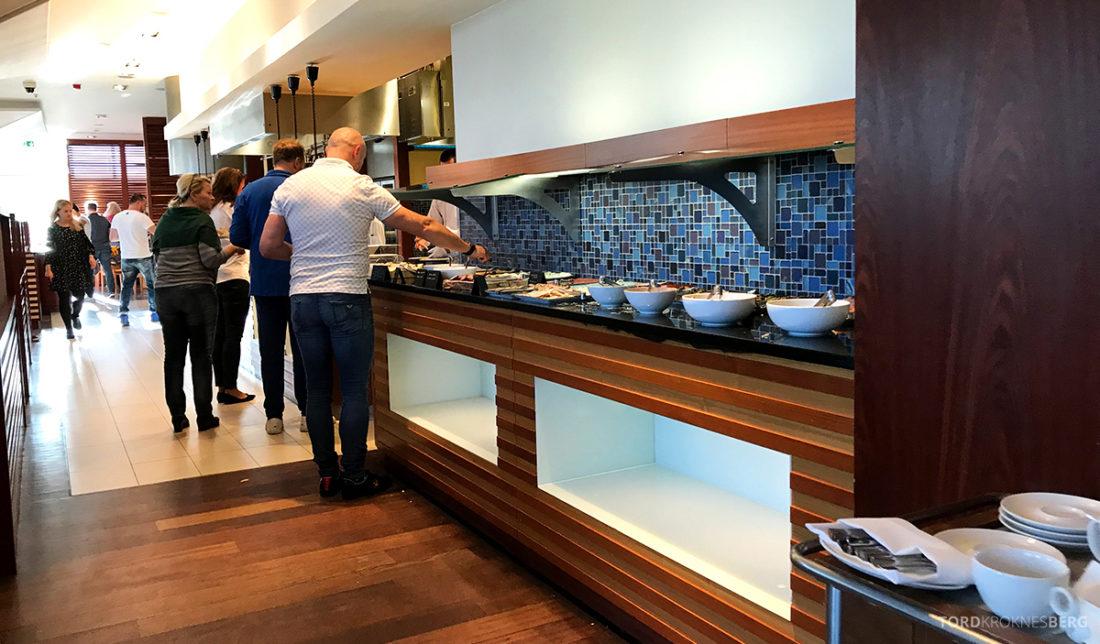 Sheraton Hotel Sopot buffet